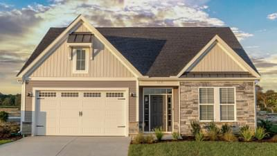 Chesapeake Homes -  The Coastline Exterior