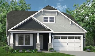Chesapeake Homes -  The Boardwalk Elevation A
