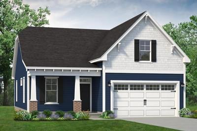 Chesapeake Homes -  The Seaspray Elevation A