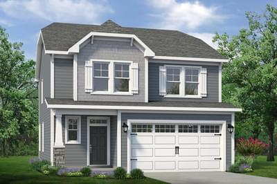 Chesapeake Homes -  The Sycamore Elevation A