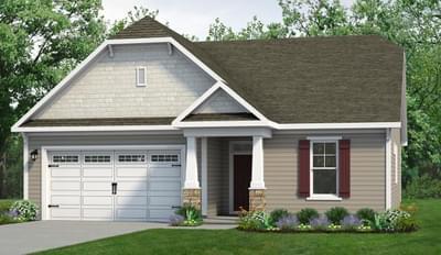 Chesapeake Homes -  The Cherry Grove Elevation A