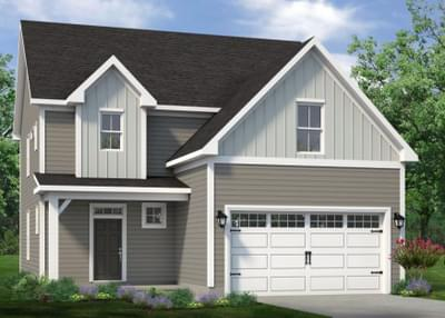 Chesapeake Homes -  The Willow Elevation B