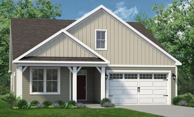 Chesapeake Homes -  The Boardwalk Elevation B