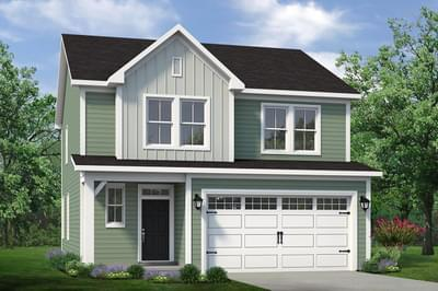 Chesapeake Homes -  The Sycamore Elevation B