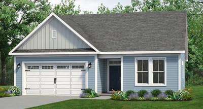 Chesapeake Homes -  The Cherry Grove Elevation B