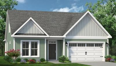 Chesapeake Homes -  The Coastline Elevation B