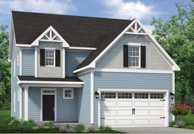 Chesapeake Homes -  The Willow Elevation C