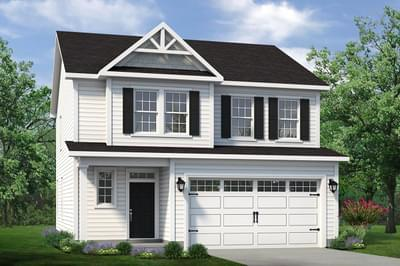 Chesapeake Homes -  The Sycamore Elevation C