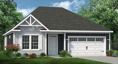 Chesapeake Homes -  The Coastline Elevation C