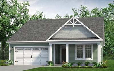 Chesapeake Homes -  The Cherry Grove Elevation C