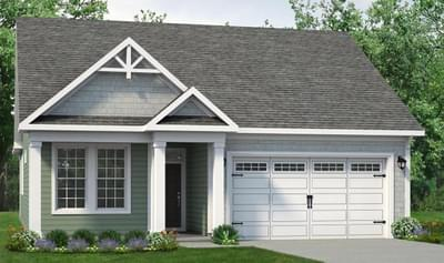 Chesapeake Homes -  The Kiawah Elevation C