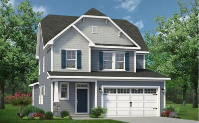 Chesapeake Homes -  The Hibiscus Elevation A
