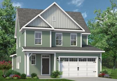 Chesapeake Homes -  The Hibiscus Elevation B