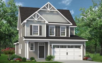 Chesapeake Homes -  The Hibiscus Elevation C