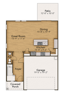 Chesapeake Homes -  The Sycamore First Floor