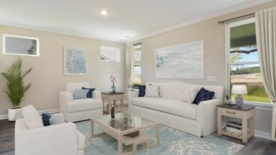 Chesapeake Homes -  The Coastline Great Room