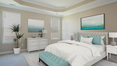 Chesapeake Homes -  The Coastline Owners Suite