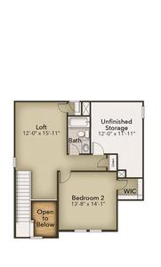 Chesapeake Homes -  The Hibiscus Second Floor