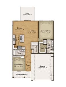 Chesapeake Homes -  The Seaspray First Floor