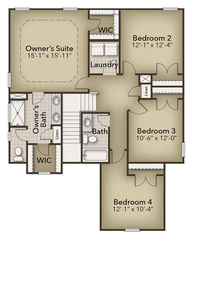 Chesapeake Homes -  The Willow Second Floor