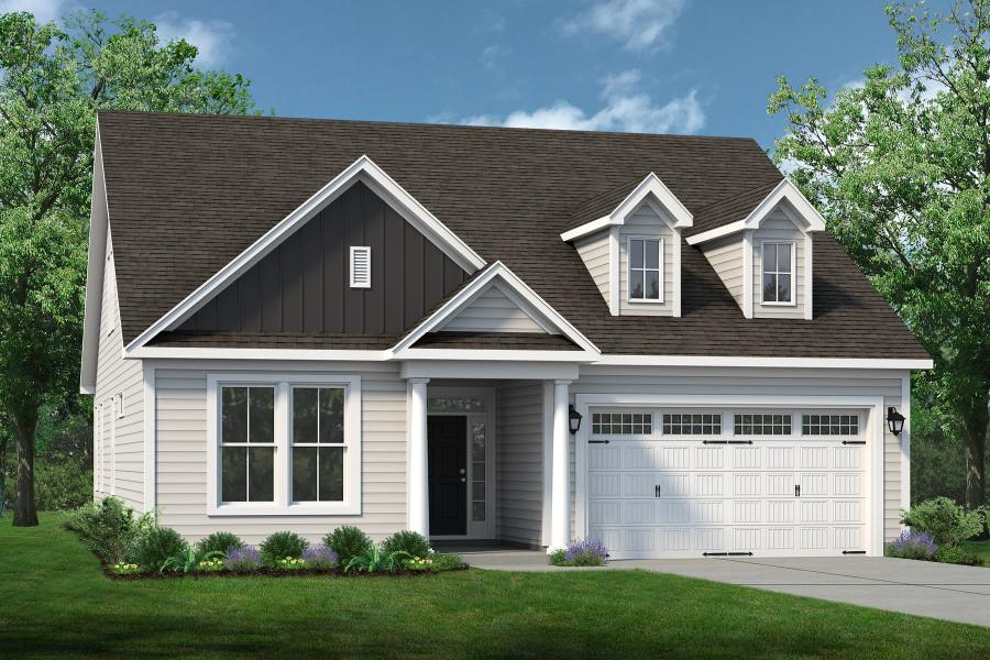 Chesapeake Homes -  297 Ballast Point UNIT 56, Clayton, NC 27520 Rendering of Home