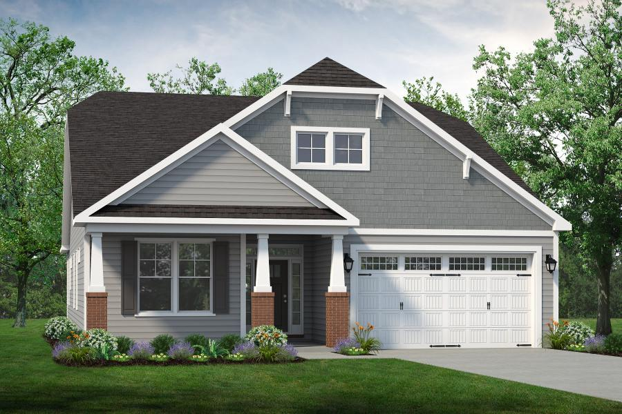 Chesapeake Homes -  17 Ballast Point UNIT 68, Clayton, NC 27520 Rendering of Home
