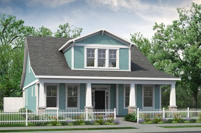 Chesapeake Homes -  The Bahama Mama Elevation A