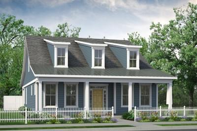 Chesapeake Homes -  The Bahama Mama Elevation B