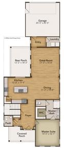 Chesapeake Homes -  The Mai Tai First Floor