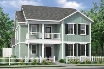 Chesapeake Homes -  The Mai Tai Elevation B