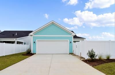 Chesapeake Homes -  The Bahama Mama Rear Exterior