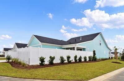 Chesapeake Homes -  The Bahama Mama Side Exterior