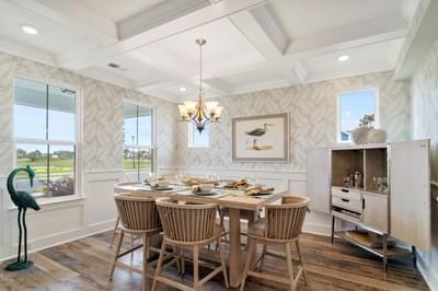 Chesapeake Homes -  The Bahama Mama Dining Room