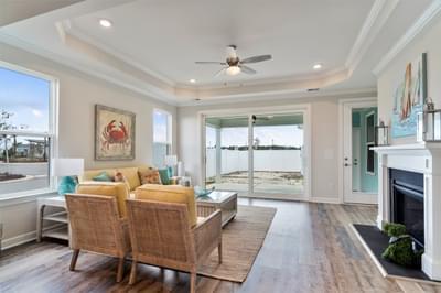 Chesapeake Homes -  The Bahama Mama Great Room