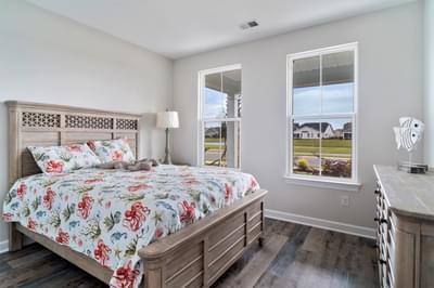 Chesapeake Homes -  The Bahama Mama Bedroom