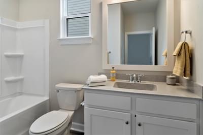 Chesapeake Homes -  The Bahama Mama Hall Bath