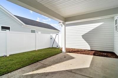 Chesapeake Homes -  The Mai Tai Rear Covered Porch