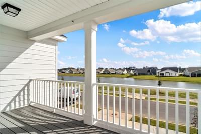 Chesapeake Homes -  The Mai Tai Front Porch