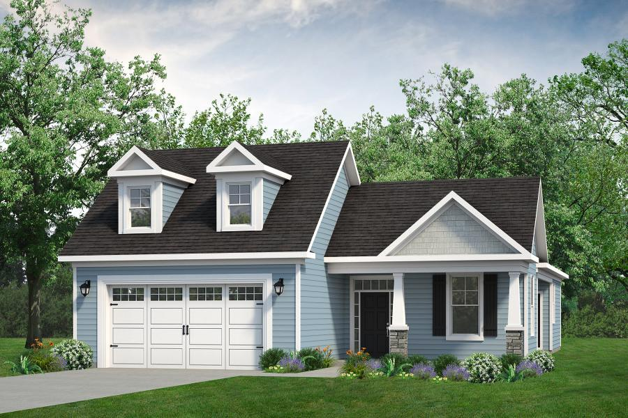 Chesapeake Homes -  The Summer Breeze Elevation A