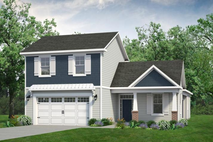 Chesapeake Homes -  The Summer Breeze Elevation A- 2 Story