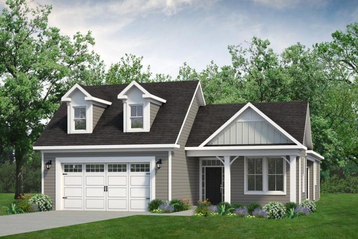 Chesapeake Homes -  The Summer Breeze Elevation E