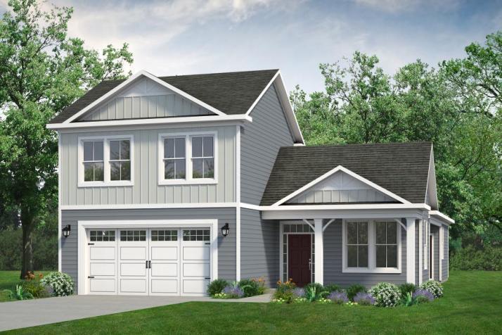 Chesapeake Homes -  The Summer Breeze Elevation E- 2 Story