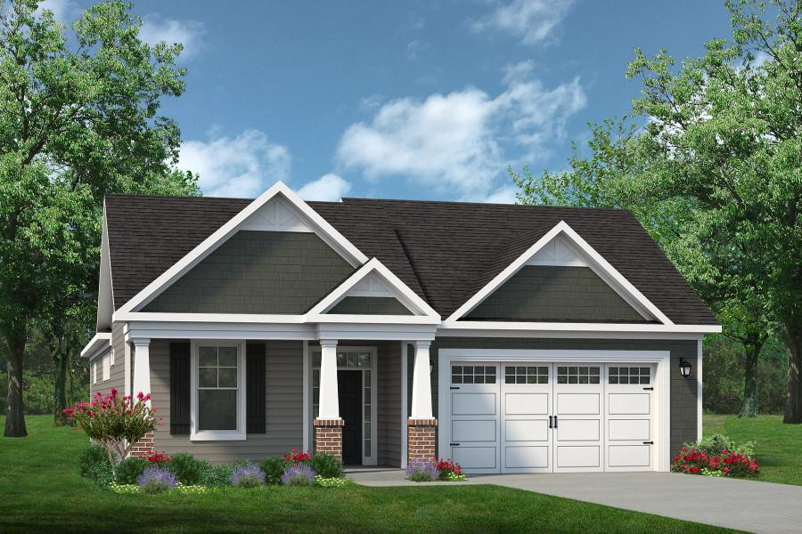 Chesapeake Homes -  The Endless Summer Elevation A