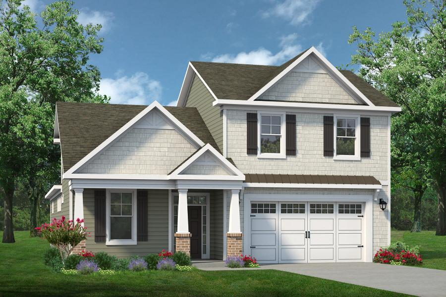 Chesapeake Homes -  The Endless Summer Elevation A- Optional 2 Story
