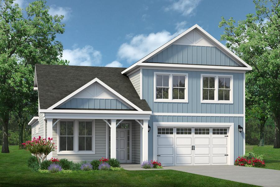 Chesapeake Homes -  The Endless Summer Elevation E- Optional 2 Story
