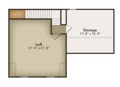 Chesapeake Homes -  The Summer Breeze Optional Second Floor