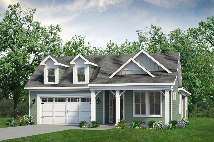 Chesapeake Homes -  The Sweet Escape Elevation E
