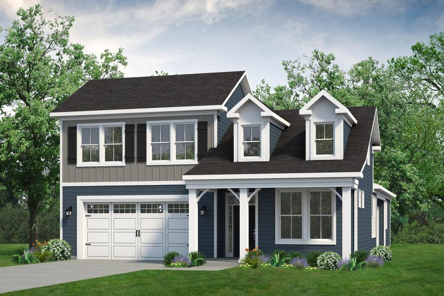 Chesapeake Homes -  The Sweet Escape Elevation E-Optional Second Floor