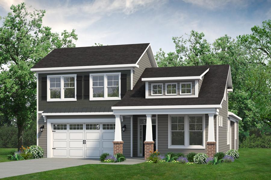 Chesapeake Homes -  The Sweet Escape Elevation A-Optional Second Floor