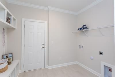 Chesapeake Homes -  The Lilac Laundry Room